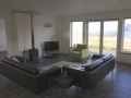 Self catering cottage on Skye living with seaview and woodburner.