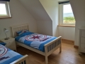 Self catering holiday home on Skye with two single beds.