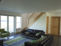 Self catering cottage on Skye with open plan living.