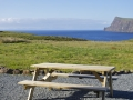 Self catering cottage on Skye with garden and seaview.