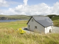 Self catering cottage on Skye with seaview.